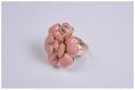Кольцо Камелия Chanel розовое